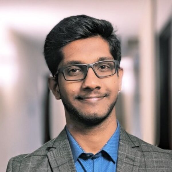 Portrait photo: Abishek                 Narayanan